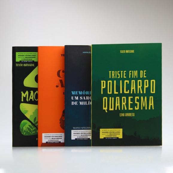 Kit 4 Livros | Para Vestibular / Literatura Brasileira