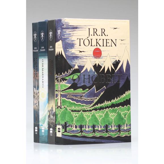 Kit 4 Livros | Terra Média | J.R.R. Tolkien