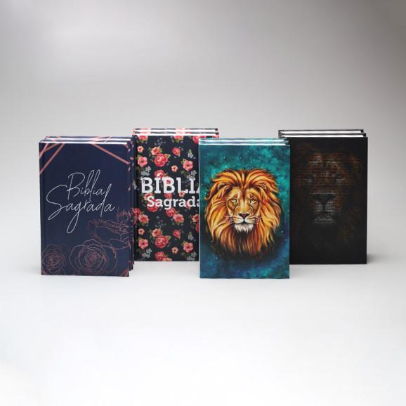 Kit 8 Bíblias   RC   Capa Dura