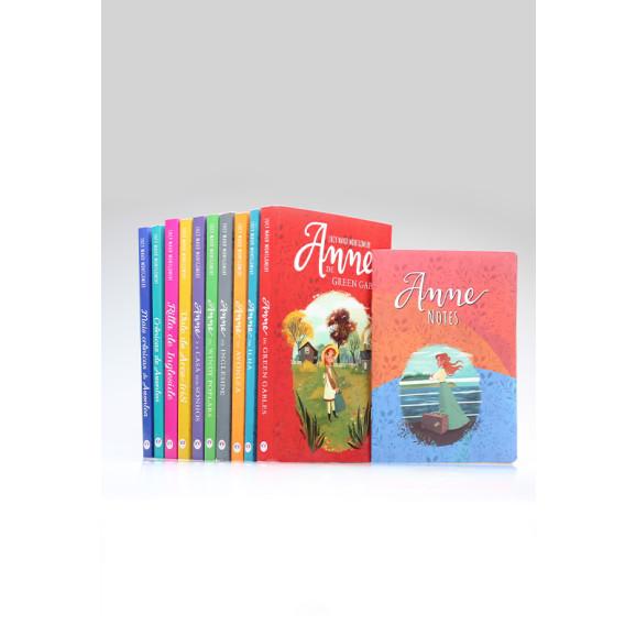 Kit 10 Livros | Anne de Green Gables | Lucy Maud Montgomery + Bloco de Anotações