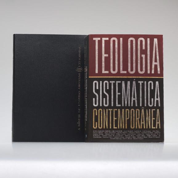 Kit Estudos Teológicos   A Bíblia de Estudo Anotada Expandida + Teologia Contemporânea