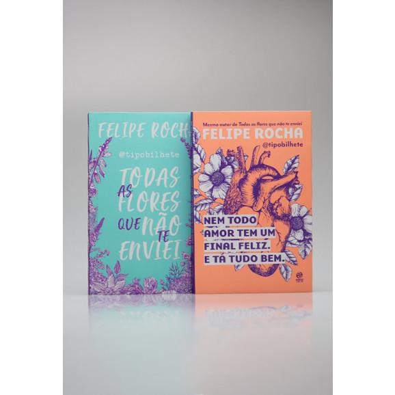 Kit 2 Livros   @Tipobilhete   Felipe Rocha