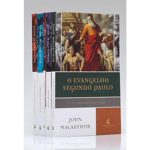 Kit John MacArthur Verdade Para Hoje | 4 Livros + Devocional
