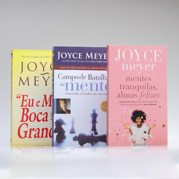 Kit 3 Livros | Joyce Meyer