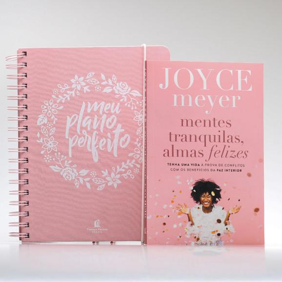 Kit Organize Sua Vida | Meu Plano Perfeito + Livro | Edição III