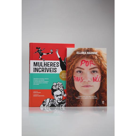 Kit 2 Livros   Mulheres Incríveis   Astral Cultural