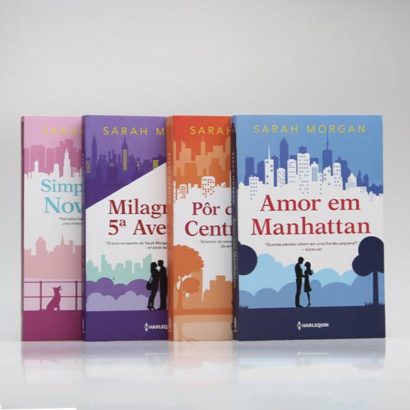 Kit 4 Livros | Para Nova York, Com Amor | Sarah Morgan