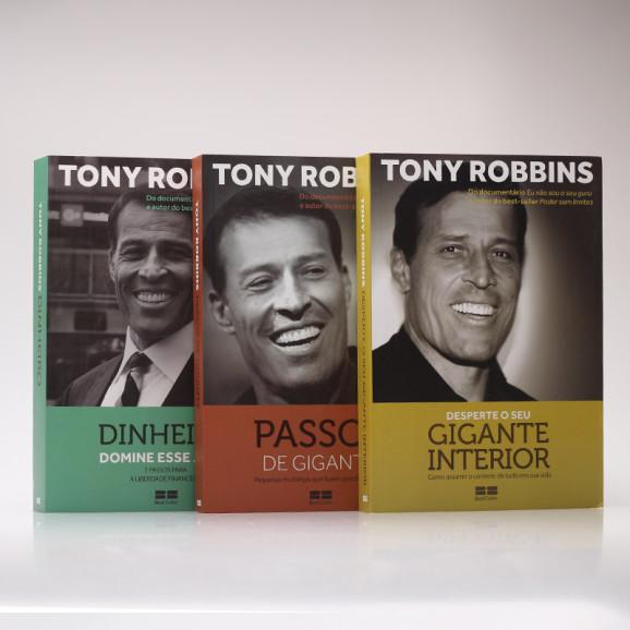 Kit 3 Livros | Assumindo o Controle Financeiro | Tony Robbins