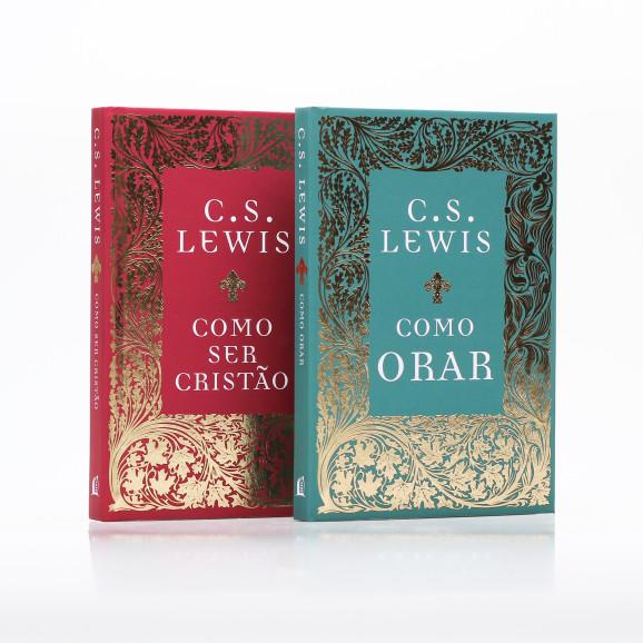 Kit 2 Livros   Coleção Fundamentos   Capa Dura   C. S. Lewis