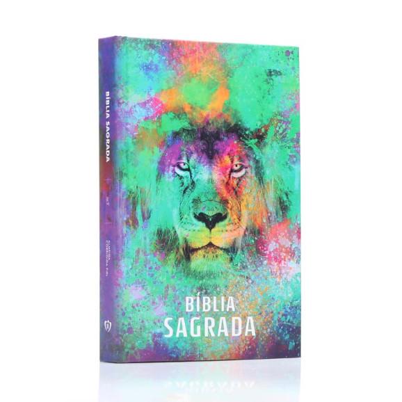 Bíblia Sagrada | ACF | Letra Média | Capa Dura | Leão Color