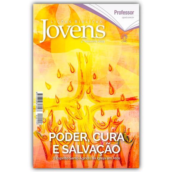 Revista | Escola Bíblica Dominical | Jovens | Professor | 4° Trimestre | 2019