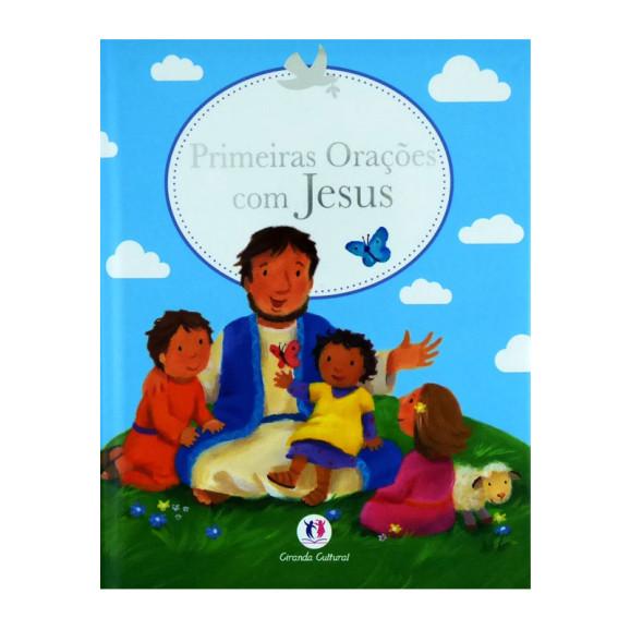 Livro Primeiras Orações Com Jesus