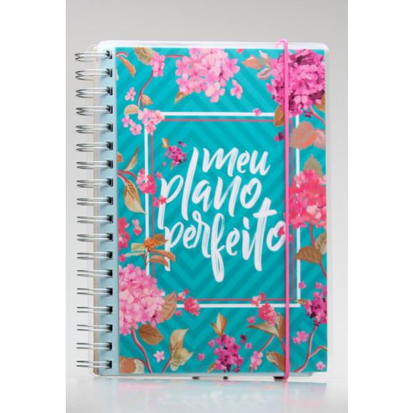 Meu Plano Perfeito   4º Edição   Capa Flores   Planner Permanente