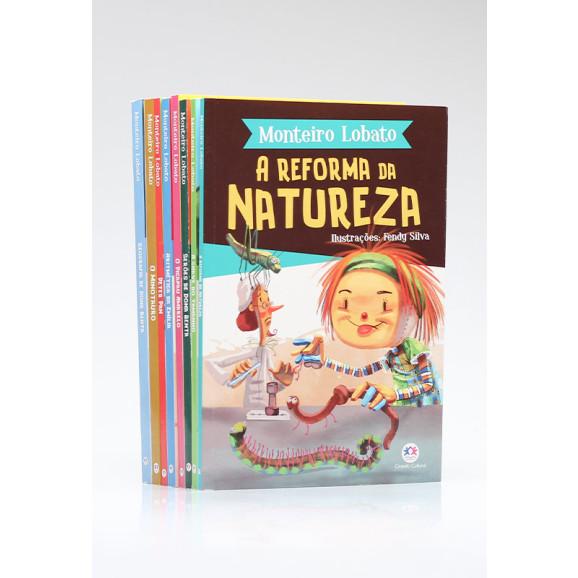 Kit 8 Livros   Clássicos Infantis de Monteiro Lobato   Edição 2