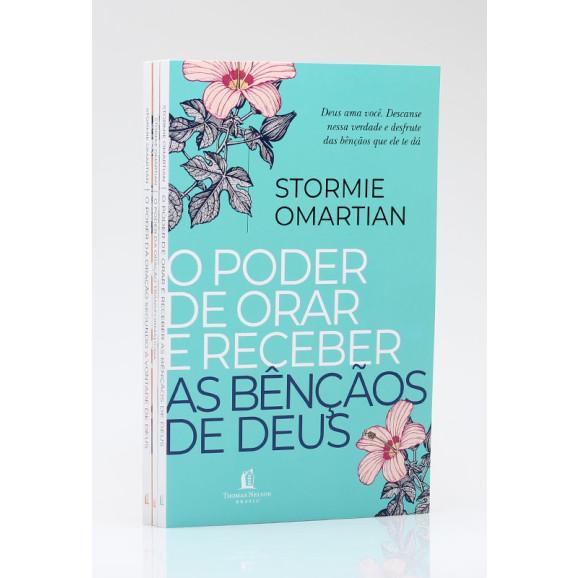 Kit 3 Livros   O Poder da Oração   Stormie Omartian