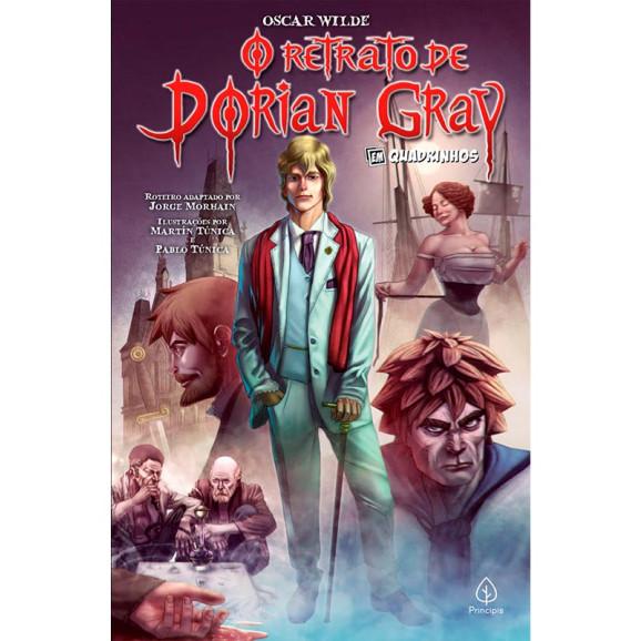 O Retrato de Dorian Gray   Em Quadrinhos  Oscar Wilde