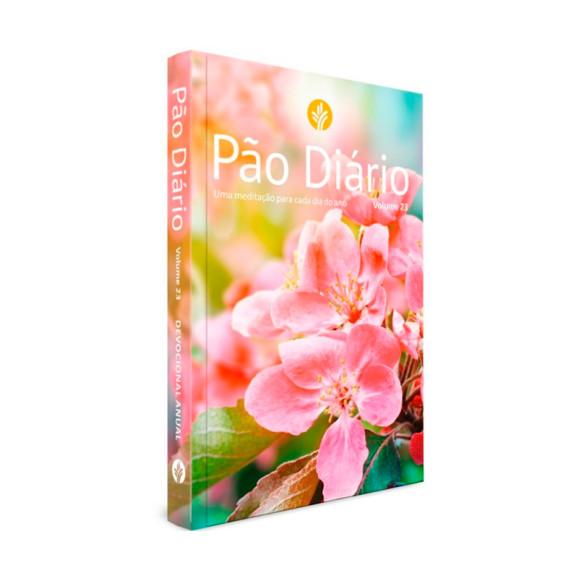 Pão Diário Vol.23 | Capa Flores