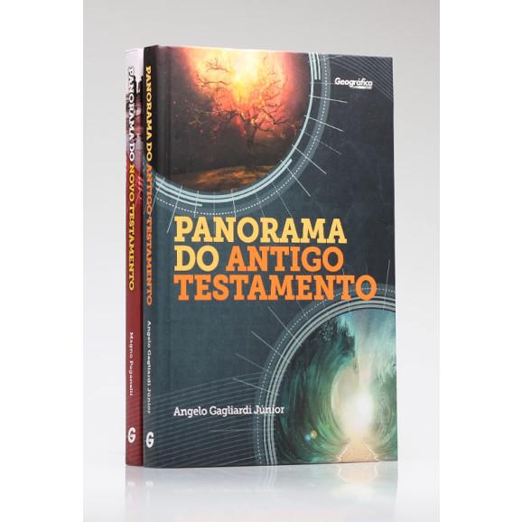 Kit 2 Livros | Panorama do Antigo e Novo Testamento