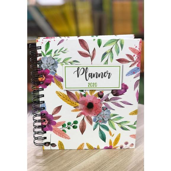 Planner 2020 | Flores | Capa Dura | Feminina