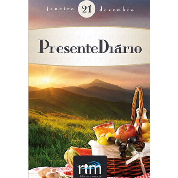 Presente Diário Vol.21 | Tradicional | Brochura | 2018