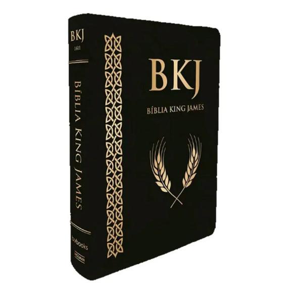 Bíblia Sagrada | King James 1611 | Letra Ultra Gigante | Luxo | Preta
