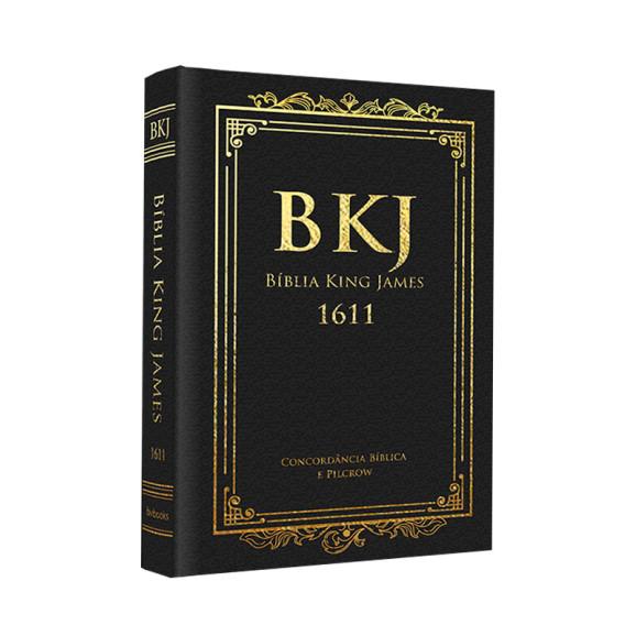 Bíblia | King James Fiel 1611 | Letra Grande | Luxo | Preto