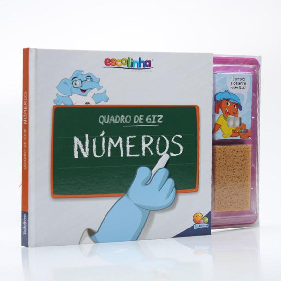Quadro de Giz Números | Capa Dura | Escolinha Todolivro