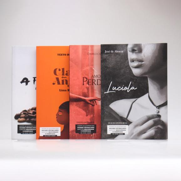 Kit 4 Livros | Histórias Românticas da Literatura | Para Vestibular