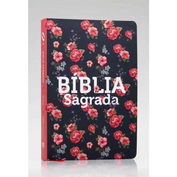 Bíblia Sagrada | NAA | Letra Grande | Soft Touch | Rosas