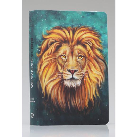Bíblia Sagrada   RC   Letra Gigante   Soft Touch   Leão Aslam