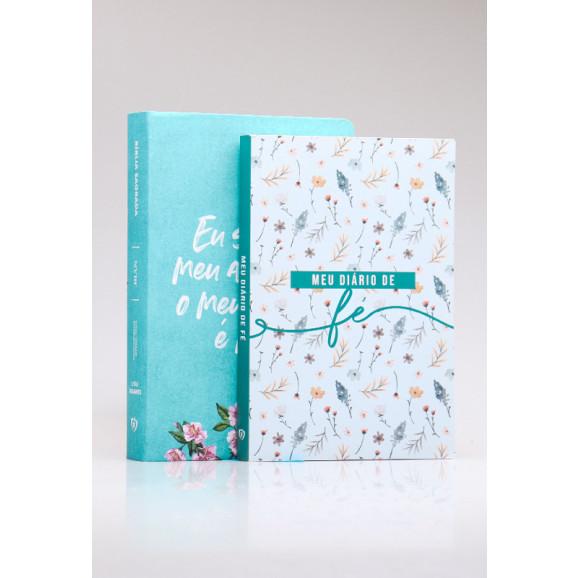 Kit Bíblia NVI Meu Amado + Meu Diário de Fé | Mulher Virtuosa