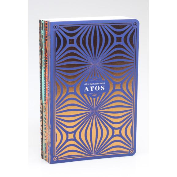 Kit 5 Livros | Seu Novo Testamento Comentado | NVI | Edição Premium