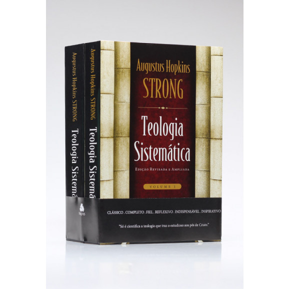 Box 2 Livros | Teologia Sistemática | Augustus Hopkins Strong