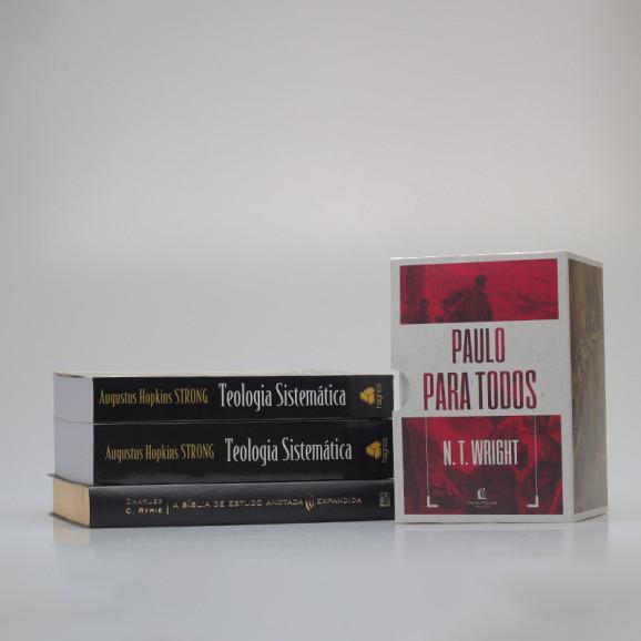 Kit Teologia Sistemática Expandida | Bíblia Anotada e Expandida + Livros