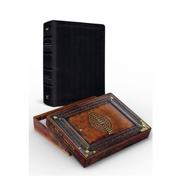 Bíblia Thompson Do Colecionador   AEC   Letra Grande   Luxo   Preta