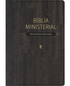 Bíblia de Estudo Ministerial | NVI | Luxo | Marrom