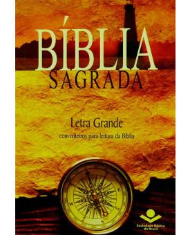 Bíblia Sagrada | RA | Bússola | Evangelismo | Letra Grande