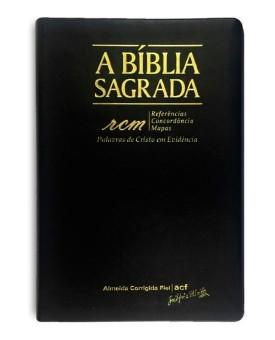 A Bíblia Sagrada | ACF | Letra Gigante | Luxo | Índice | Preta