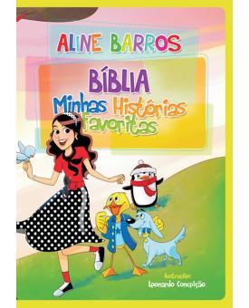 Bíblia Minhas Histórias Favoritas - Aline Barros - Infantil