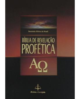 Bíblia de Estudo Revelação Profética | RC | Letra Normal | Brochura | Ilustrada