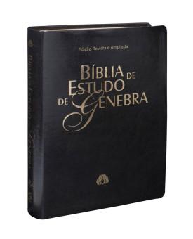 Bíblia de Estudo Genebra | RA | Letra Normal | Luxo | Preta