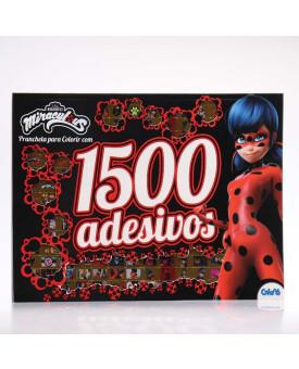 Miraculous Ladybug   Prancheta Para Colorir com 1500 Adesivos