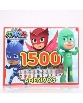PJ Masks   Prancheta Para Colorir com 1500 Adesivos