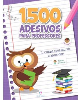 1500 Adesivos Para Professores - Encoraje Seus Alunos | Ciranda Cultural