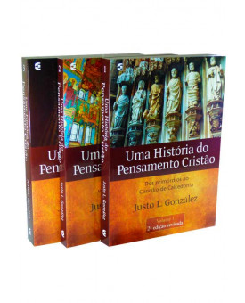Box Uma História Do Pensamento Cristão | Justo L. González