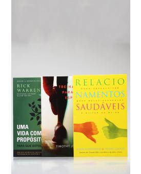 Kit 3 Livros | Vida Saudável
