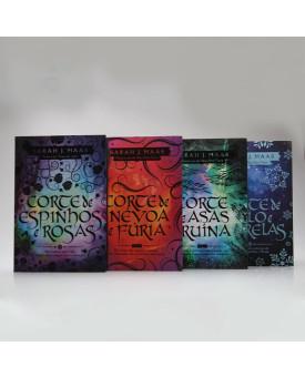 Kit 4 Livros | Corte de Espinhos e Rosas | Sarah J. Maas