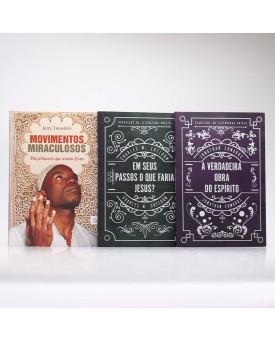 Kit 3 Livros   Movimentos Miraculosos + 2 Clássicos da Literatura Cristã