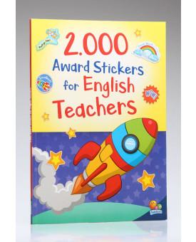 2.000 Award Stickers For English Teachers | Ana Cristina de Mattos Ribeiro