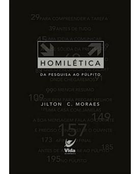 Livro Homilética: da Pesquisa ao Púlpito